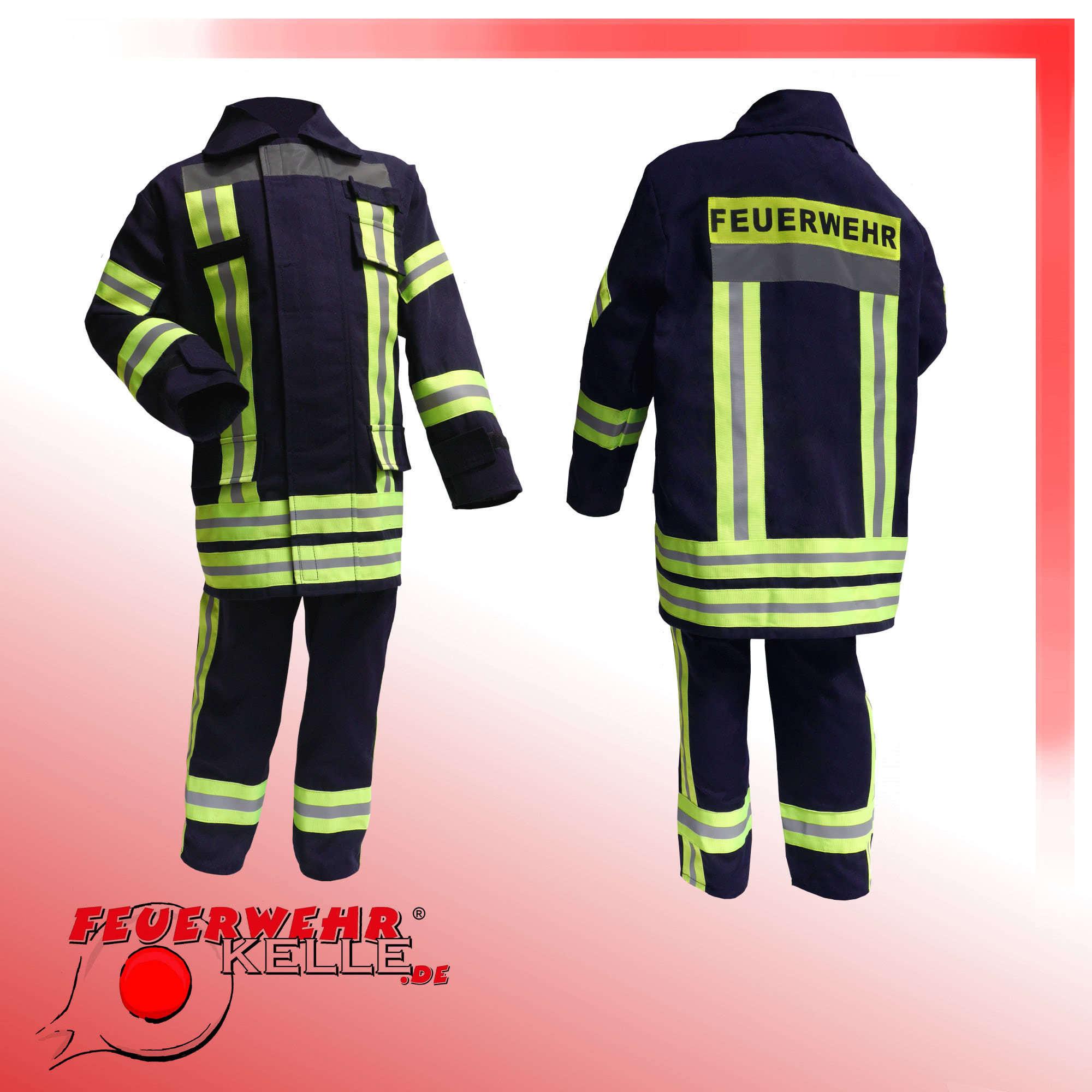 Feuerwehrkostüm für Kinder Feuerwehranzug kaufen | FEUERWEHRKELLE